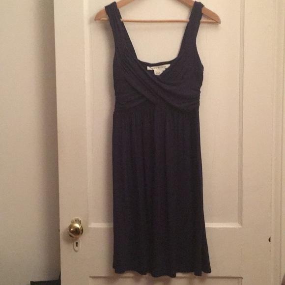 Max Studio Dresses & Skirts - navy criss cross dress